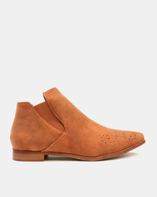 Dolce Vita Stetson Ankle Boots Tan