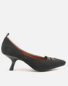 Dolce Vita Hepburn Heeled Courts Black