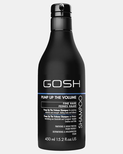 GOSH Professional Hair Care Pump Up The Volume Shampoo 450ml