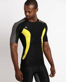 DNAmic Short Sleeve Top Black
