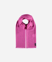 FRAAS Wool Basic Monochrome Essential Scarf Pink