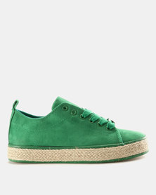 KG Ibiza Lace Up Sneakers Green