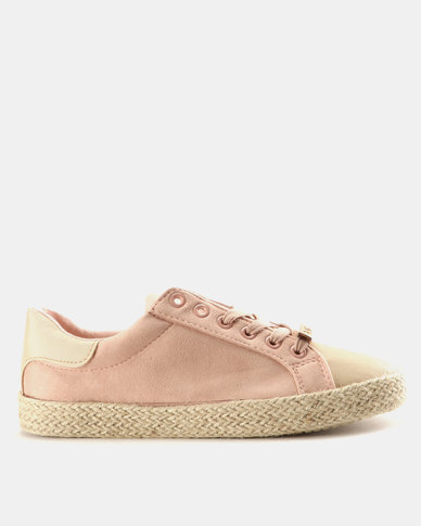 1de93edc417c KG Madrid Lace Up Sneakers Dusty Pink