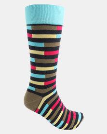 Cameo Stripe Socks Multi