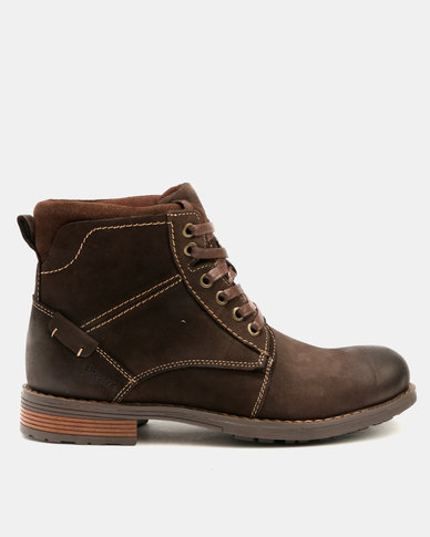 clearance order buy cheap original Bronx Men Bronx Mens Lennox Leather Boots Coffee outlet 2014 unisex discounts for sale YML28