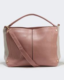 Two Slouch Handbag Pink