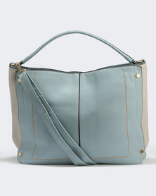 Two Slouch Handbag Blue
