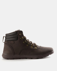 Pierre Cardin Outdoor Inspired Boots Brown
