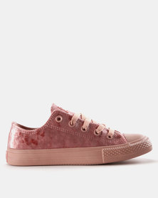 Viper Fash Velour Sneakers Dusty Pink Mono