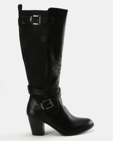 79b630cb7f83 Staccato Knee High Boots Black