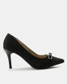 Staccato Fashion Court Shoes Black
