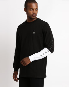 Billabong Unity Split LS Tee Black