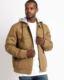 Billabong Barlow Twill Brown