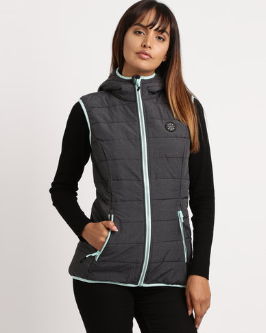 Lizzy Adana Sleeveless Puffer Grey