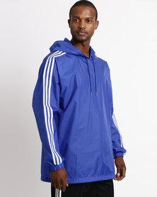 adidas Poncho WB Jacket Blue