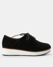 G Couture Lace Up Shoes Black