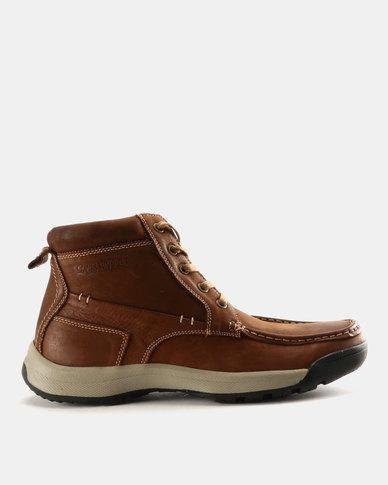 cheap cheap online Grasshoppers Grasshoppers Carlin Leather Boots Brown sast cheap online g95tqsPIg