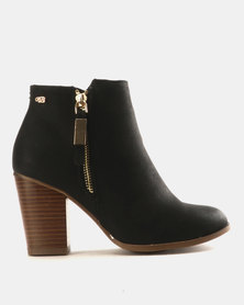 Miss Black Ahlam Ankle Boots Black