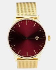 Nando Van Brugge Watch Gold-Tone
