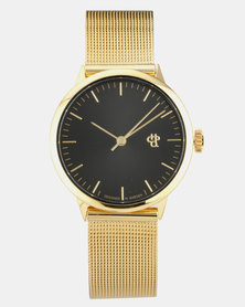 Nando Mini Watch Gold-Tone