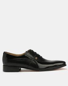 Crockett & Jones Formal Patent Leather Shoe Black