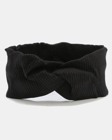 Wide knot Alice Band Black  a9a82281180