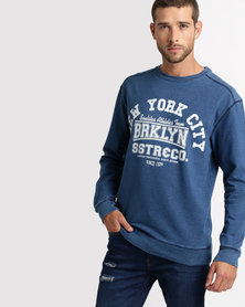 Soul Star MSW Golight Sweatshirt Blue