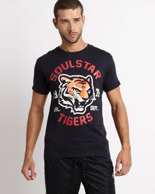 Soul Star MT Mermeum T-Shirt Navy