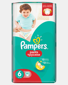 Pampers Active Baby Pants XL Size 6 Jumbo Pack 40