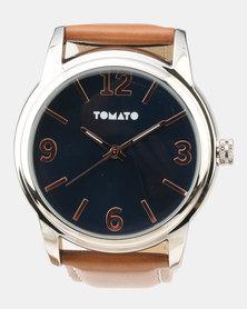 Tomato Strap Watch Black/Tan