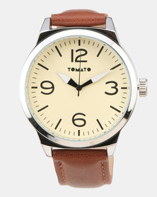 Tomato Strap Watch Brown