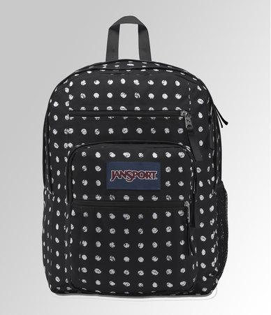 2151b10ec5b6 JanSport Big Student Backpack Black Sketch Dot