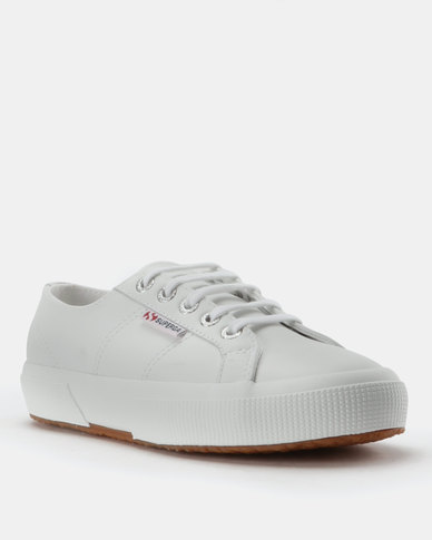 Superga Superga Leather Class Lo Sneakers White buy cheap buy vlt1IkcAyz