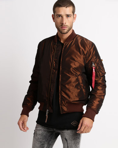 1c76f5cd9 Alpha Industries MA-1 VF 59 Iridium Bomber Copper