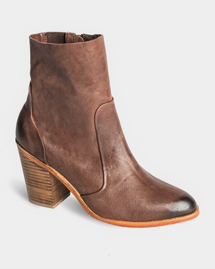 Jeffrey Campbell Ragini Boots Brown