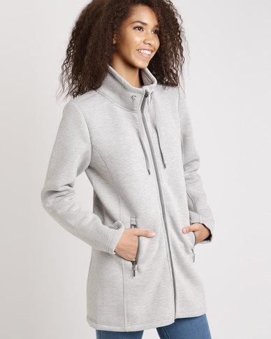 Jeep Scuba Fashion Jacket Grey