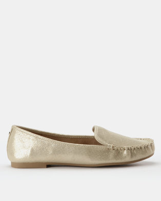 Call It Spring Werracia Loafers Gold