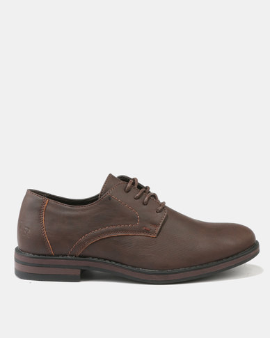 cheap wiki Luciano Rossi Luciano Rossi Pin Punch Formal Shoes Brown clearance shopping online with credit card online new cheap price riKkY