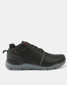 Luciano Rossi Casual Lace Up Boots Black