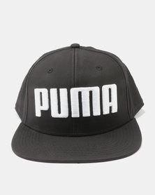 Puma Flatbill Cap Black