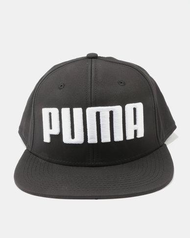 Puma Flatbill Cap Black  099bb7f7d05
