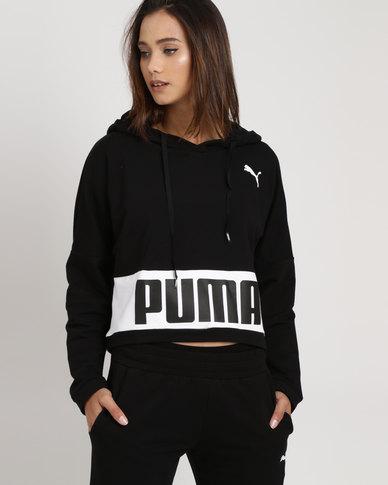 efb94e09b41 Puma Urban Sports Hoodie TR Black | Zando