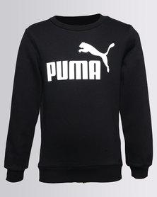 Puma ESS No-1 Crew Sweat Cotton Black
