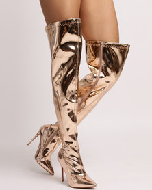 Dolce Vita Montreux Boots Rose Gold