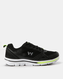 Willow Levanik Sneaker Black Lime