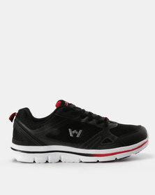 Willow Levanik Sneaker Black Red