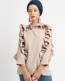 Shop.Style.Snap Top Nude