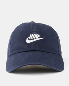 Nike U NSW H86 Futura Washed Cap Blue