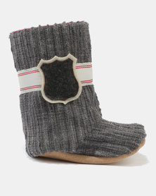 Myang Cord Boots Charcoal