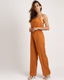 Jota-Kena Bowback Jumpsuit Orange